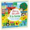 Vilac gry planszowe dla dwulatka Na Farmie drewniane