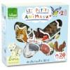 Magnesy drewniane Zwierzęta 20 sztuk by N.Lete, Vilac