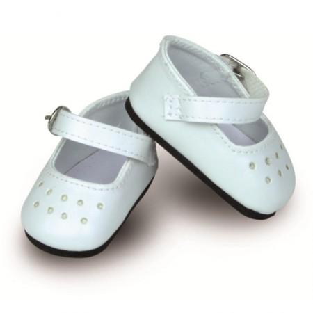 Buciki białe dla lalek 34cm zabawka dla dzieci, Petitcollin