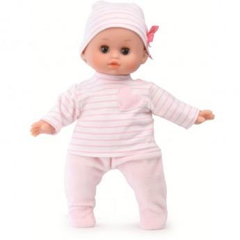 Lalka bobas dla dzieci 28cm w piżamce Słodkie Sny, Petitcollin