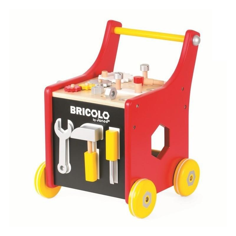 Wózek warsztat magnetyczny z narzędziami Bricolo, Janod