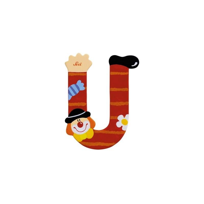 "Litera ""U"" z klaunem"