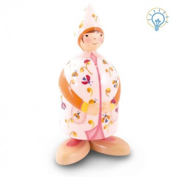 Lampa nocna Dziewczyna z biedronkami dla dzieci, L'Oiseau Bateau