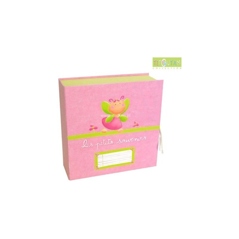 Pudełko na pierwsze pamiątki Lilifleur, Titoutam
