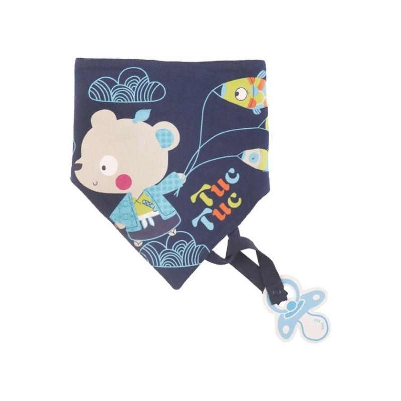 Apaszka z zawieszką na smoczek Kimono Boy, Tuc Tuc