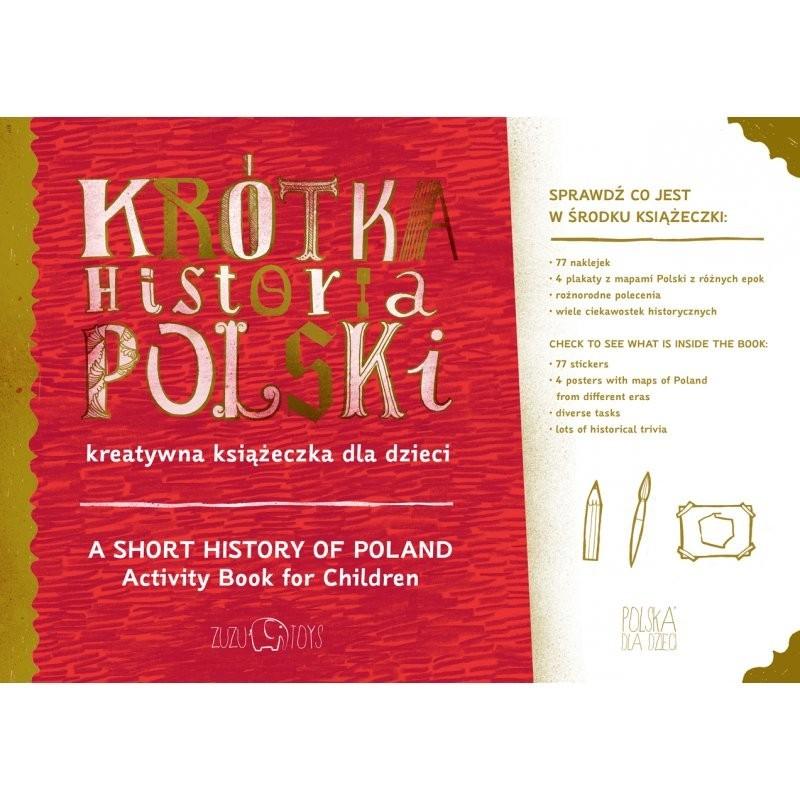 Krótka Historia Polski kreatywna książeczka, Zuzu Toys