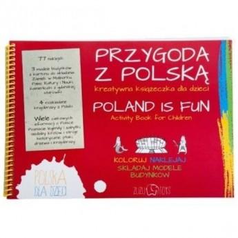 Przygoda z Polską - kreatywna książeczka, Zuzu Toys