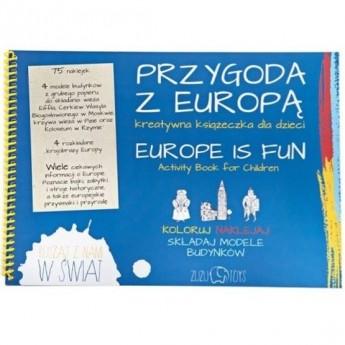 Przygoda z Europą - kreatywna książeczka, Zuzu Toys