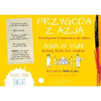 Przygoda z Azją - kreatywna książeczka, Zuzu Toys