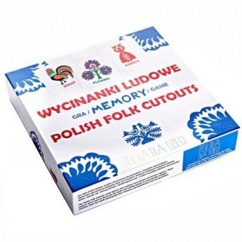 Gra memo Polski Wycinanki ludowe, Zuzu Toys