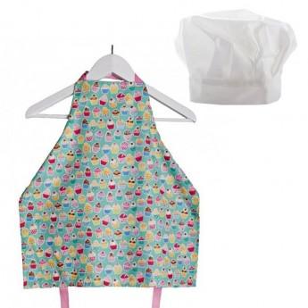 Fartuszek kuchenny i czapka 1-2 lata Ciasteczka Małe, Zuzu Toys