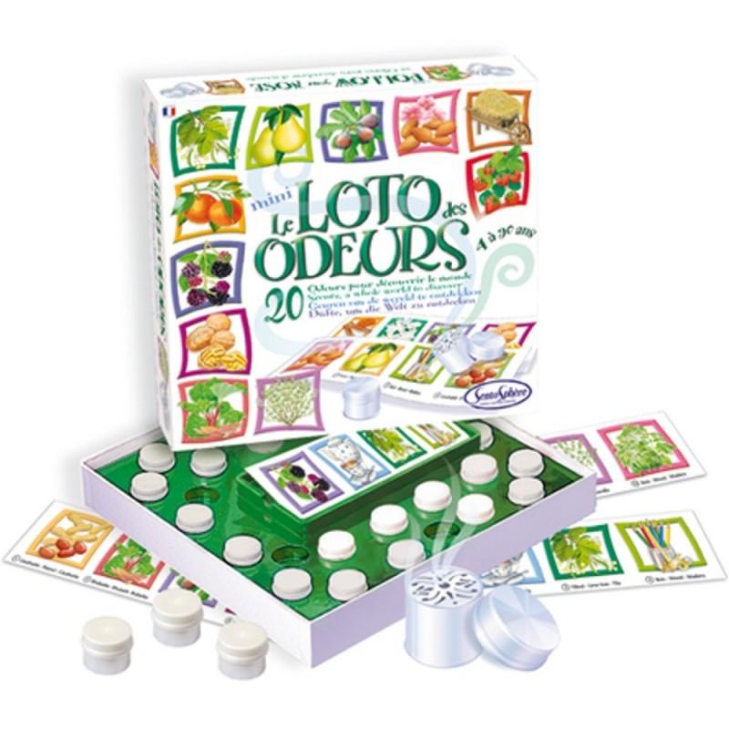 Lotto Zapachowe 20 zapachów gra sensoryczna, SentoSphere