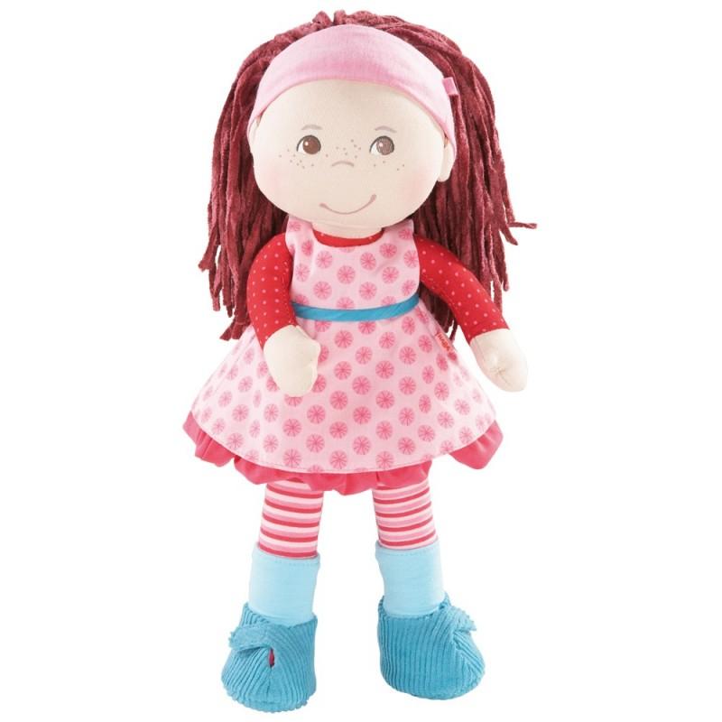 Haba lalka szmacianka Clara 34cm dla dziewczynki od 18mc