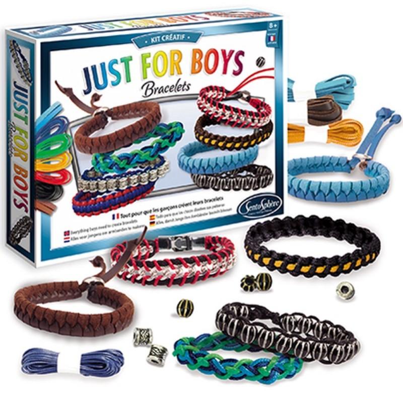 Bransoletki dla chłopaków Just for Boys, SentoSphere